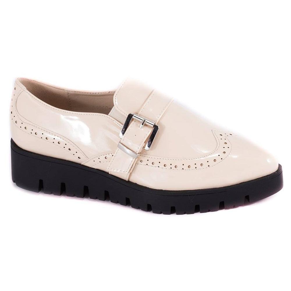 Pantofi de dama bej 51960-1B