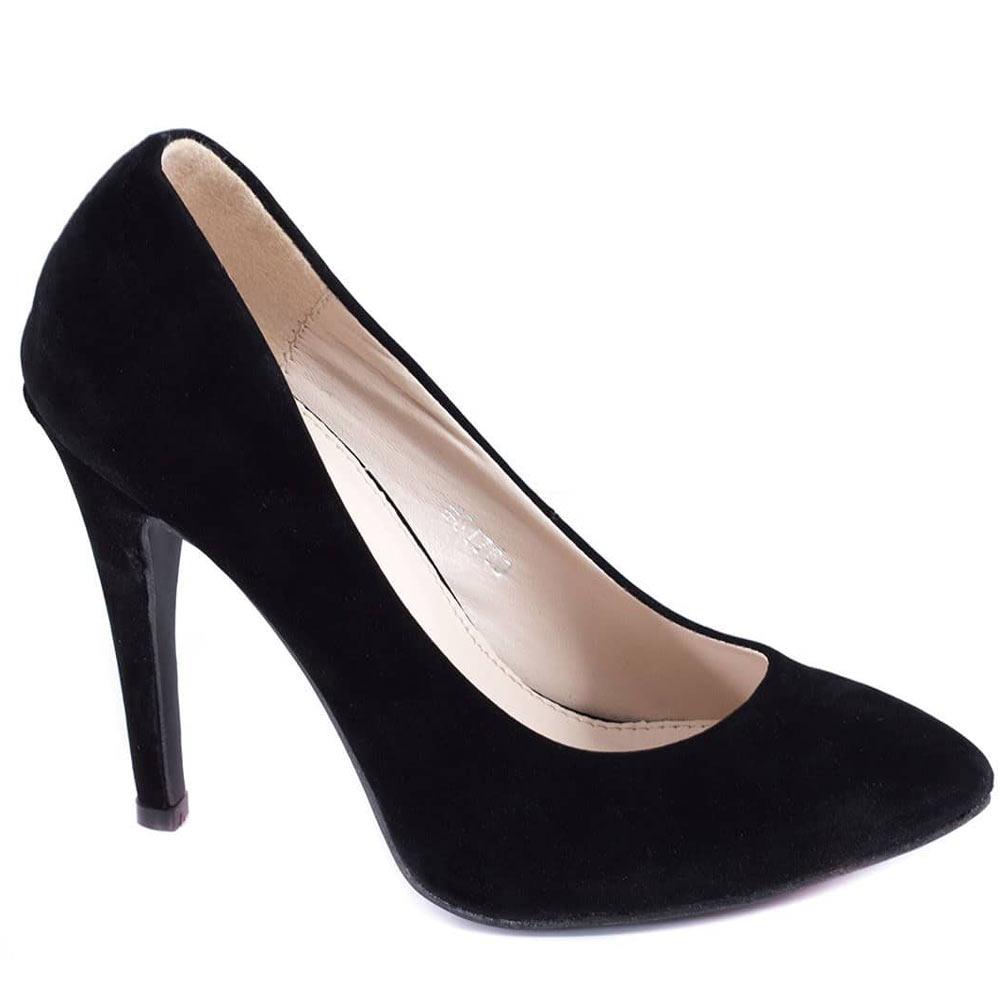 Pantofi negri cu toc 51760N