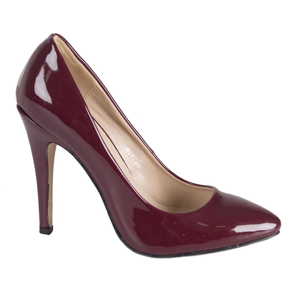 Pantofi dama negri cu toc 51598-N-PT la 39,99Lei - Zibra.ro
