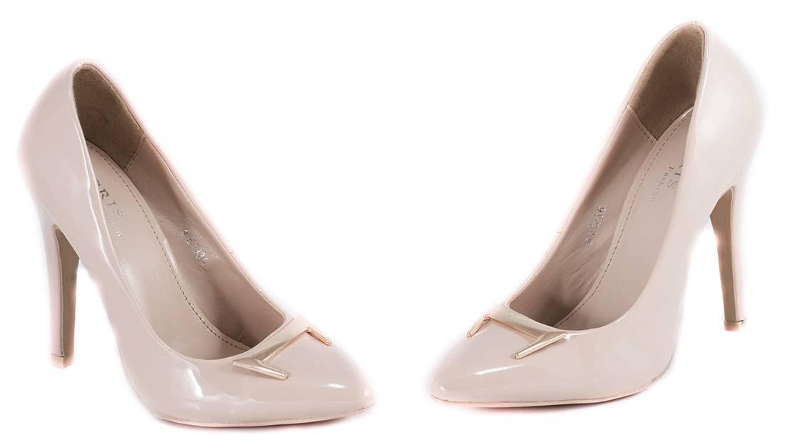 Pantofi nude cu toc 51936N