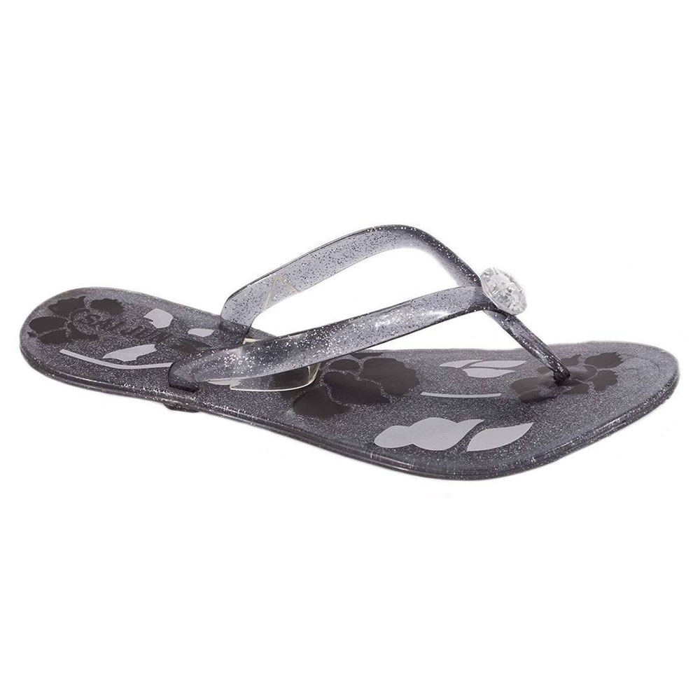 Papuci dama negri din cauciuc MKL-0722N