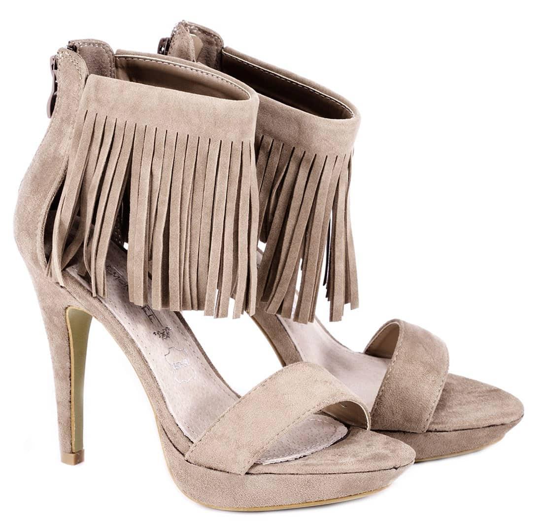 Sandale kaki de dama C685K