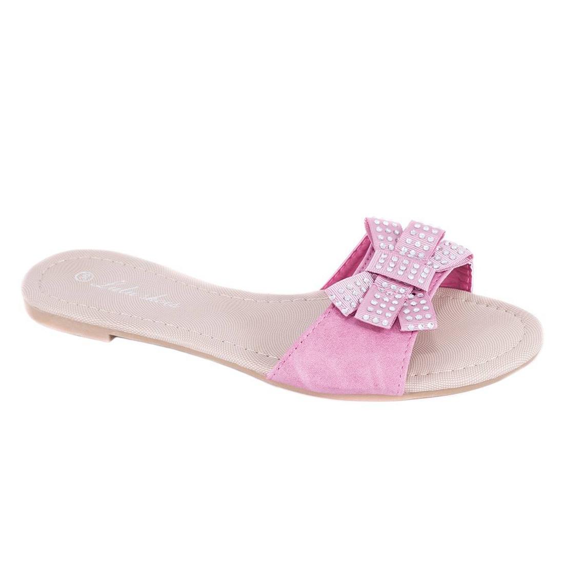 Papuci roz de dama RS-003R