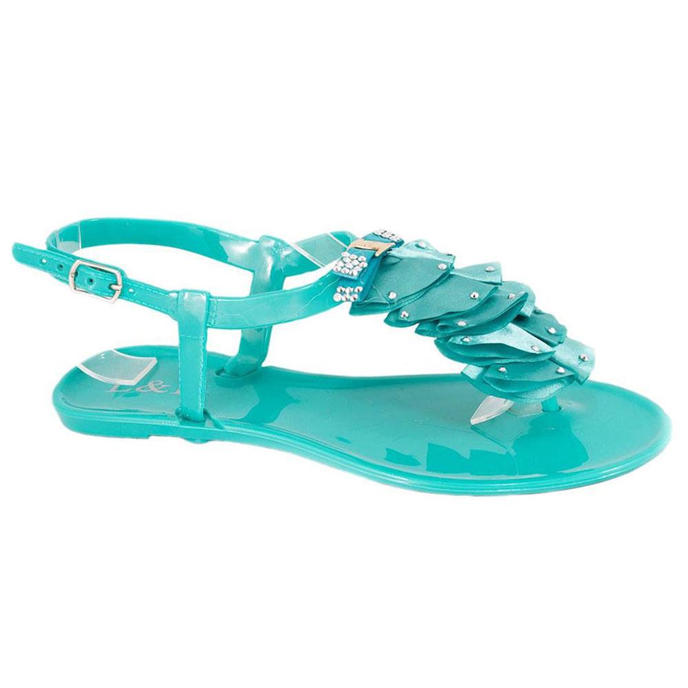 Sandale din cauciuc verzi 268V