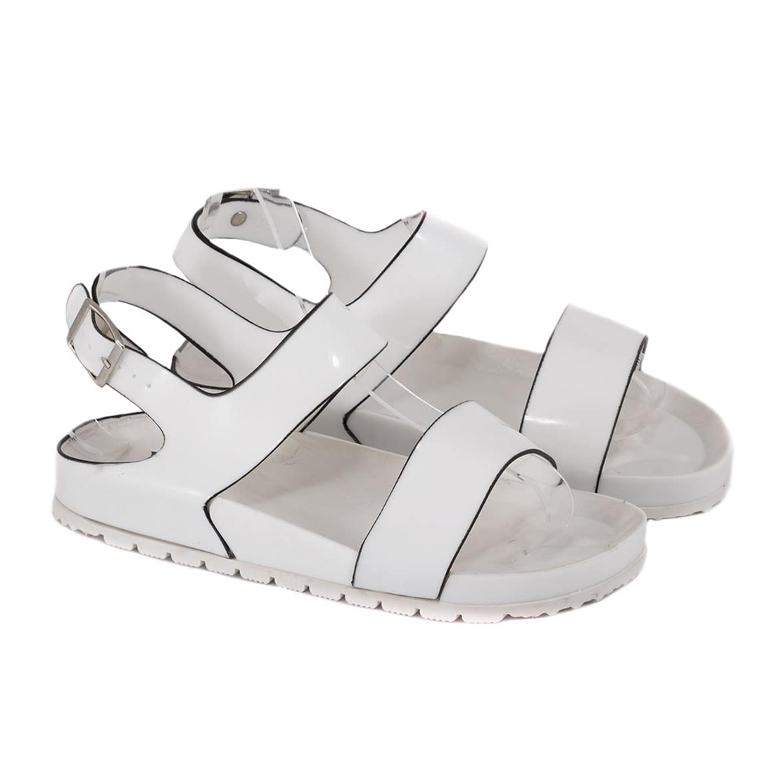 Sandale din cauciuc albe S888A