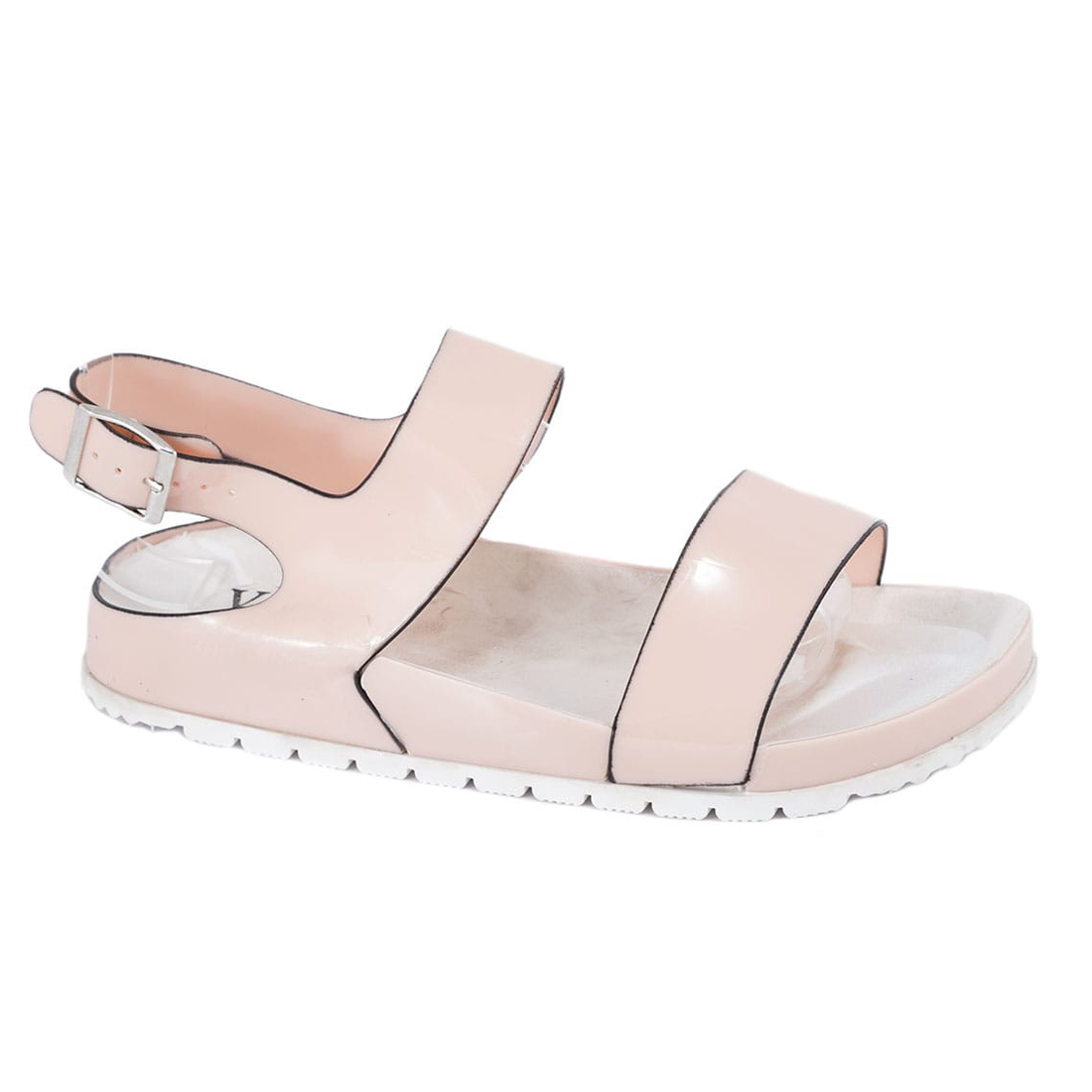 Sandale din cauciuc bej S888B