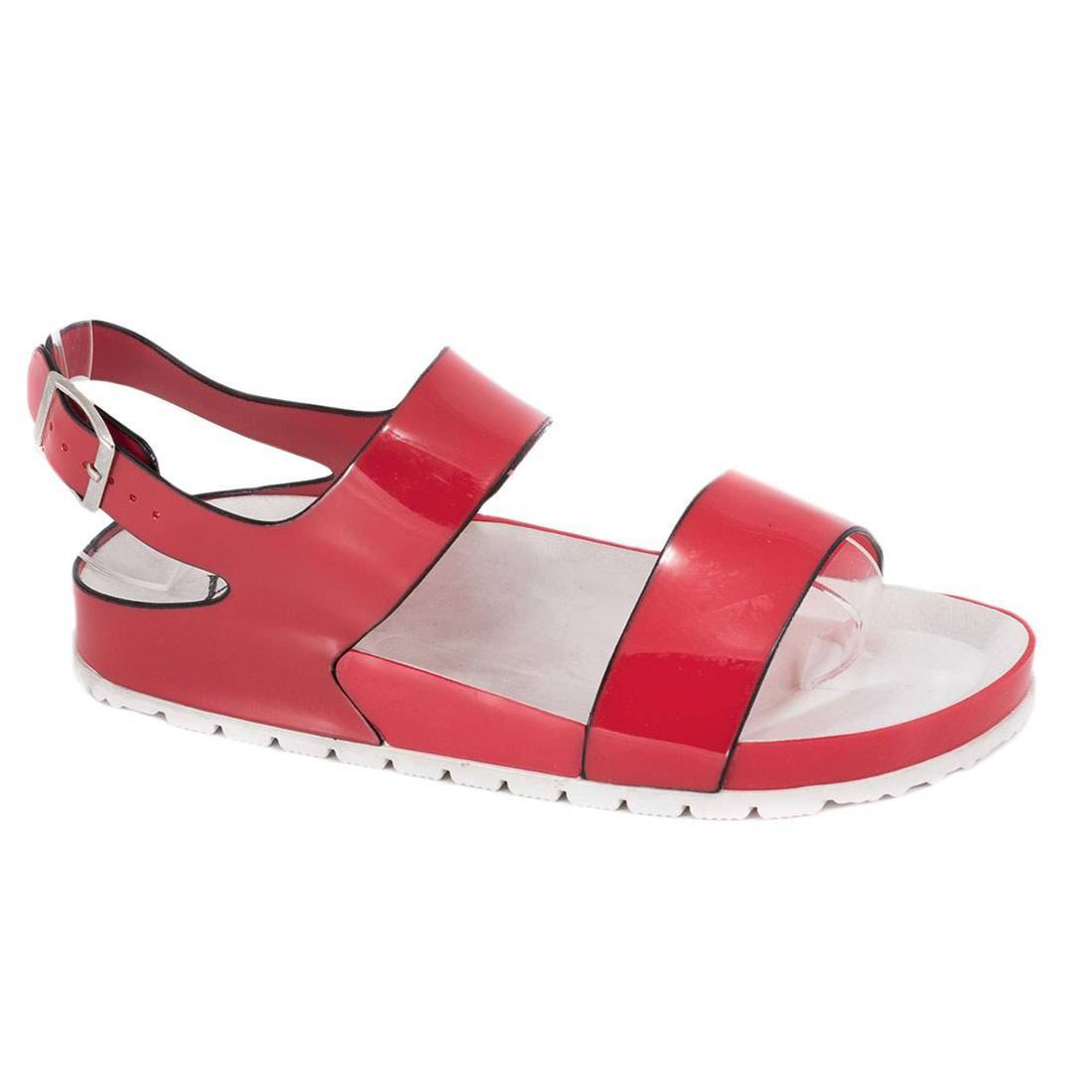 Sandale din cauciuc rosii S888R