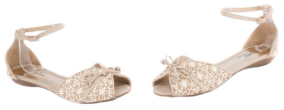 Sandale de dama cu fundita L88B