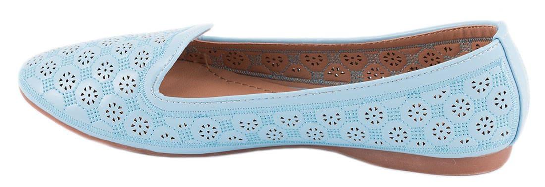 Balerini albastri de dama 6201-36B
