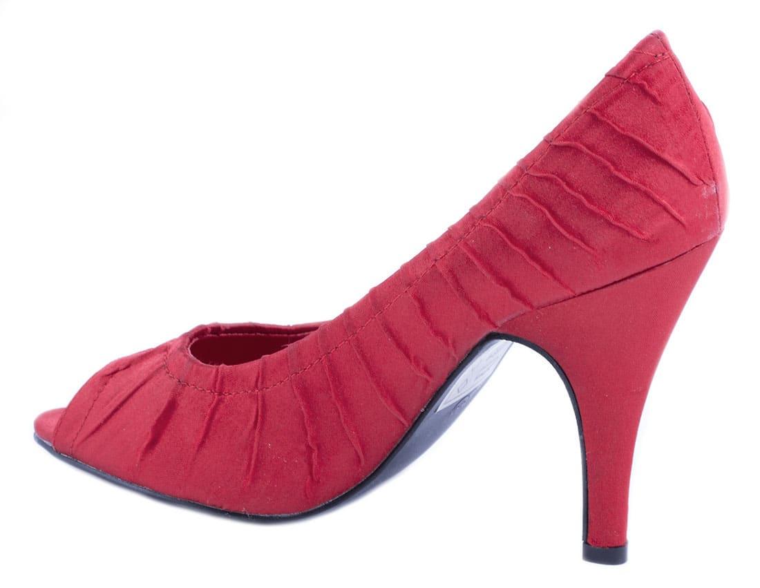 Pantofi rosii cu toc 24583R