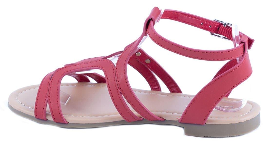 Sandale de dama rosii PM907-11R