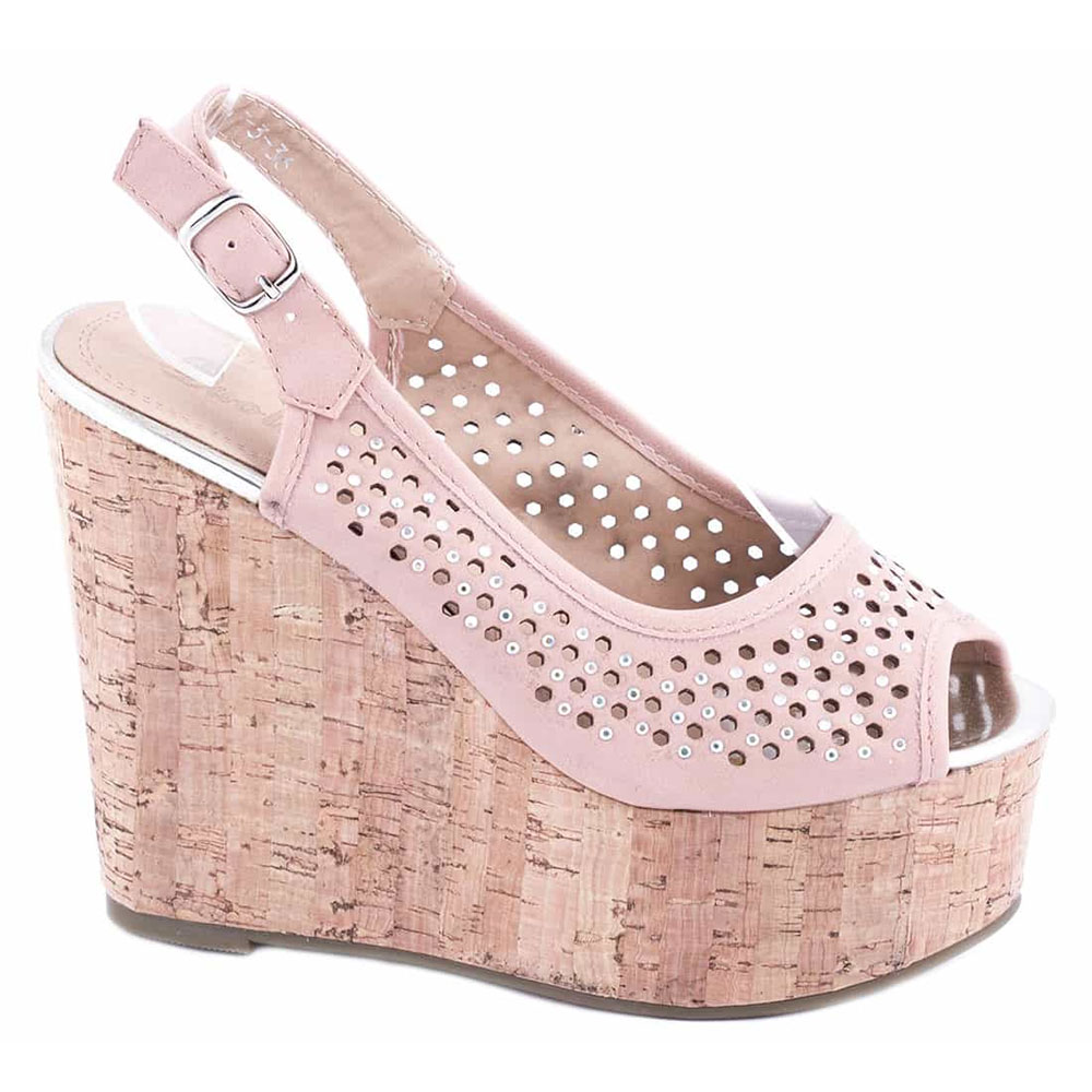 Sandale dama cu platforma 663-3R