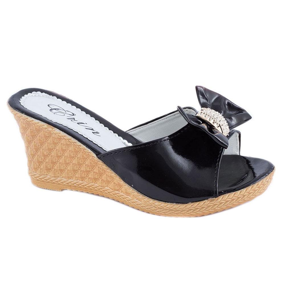 Papuci de dama cu talpa ortopedica WB-1213N