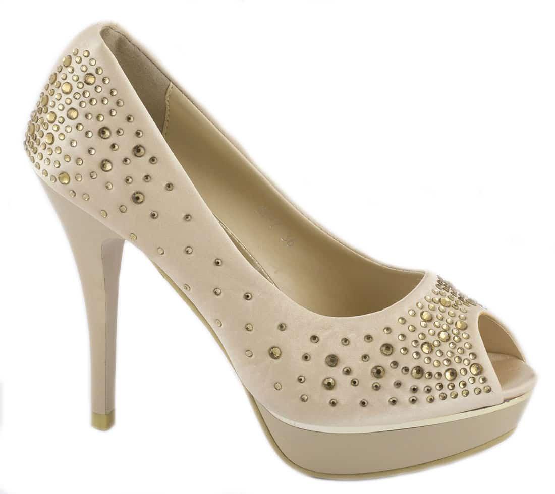 Pantofi de dama cu platforma KF-7C