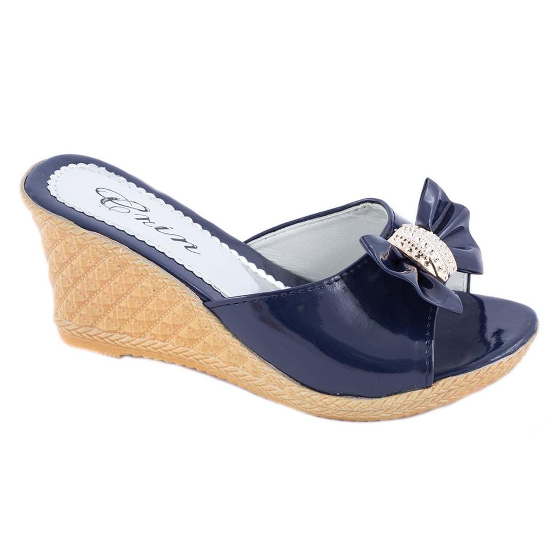 Papuci de dama cu talpa ortopedica WB-1213B