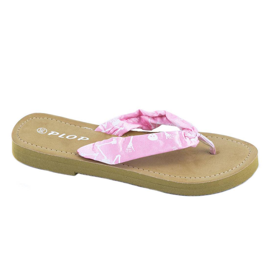 Papuci roz de dama YD1748R