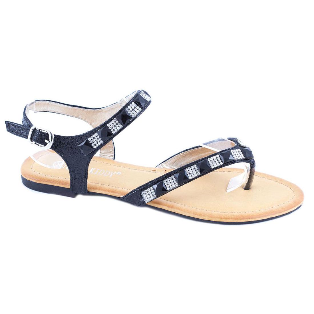 Sandale de dama negre 6030-17N