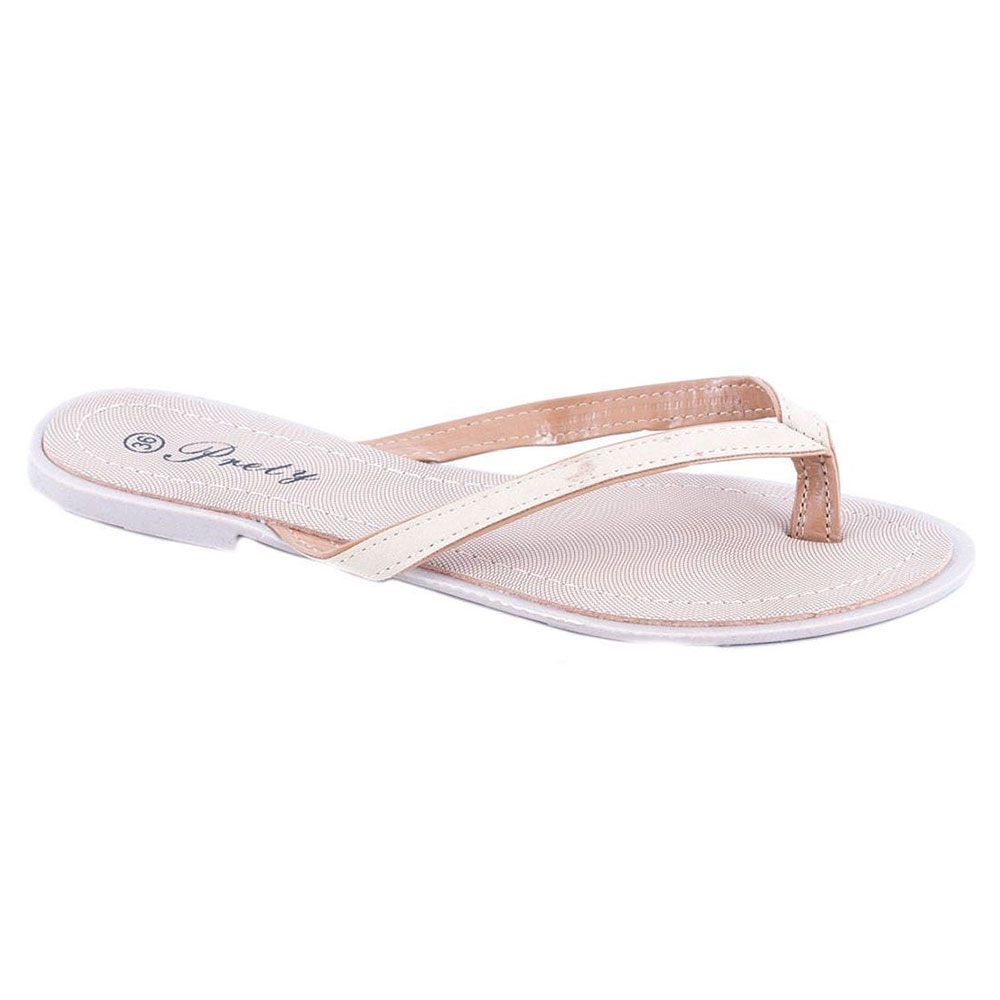 Papuci de dama bej 668-38B