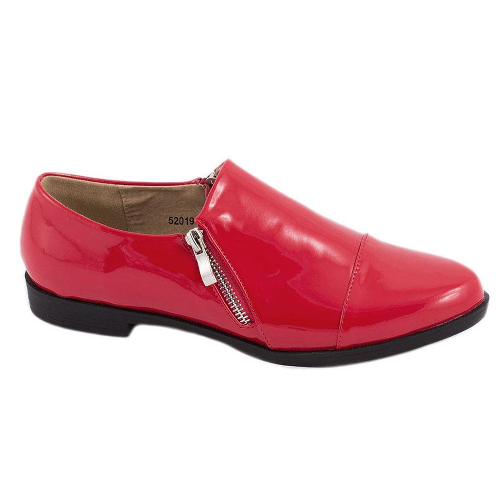 Pantofi rosii de dama 52019R
