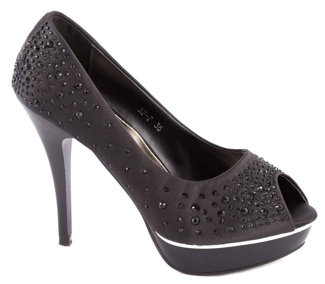 Pantofi de dama cu platforma KF-7N