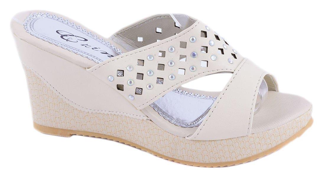 Papuci dama cu talpa ortopedica WB-1211BEJ