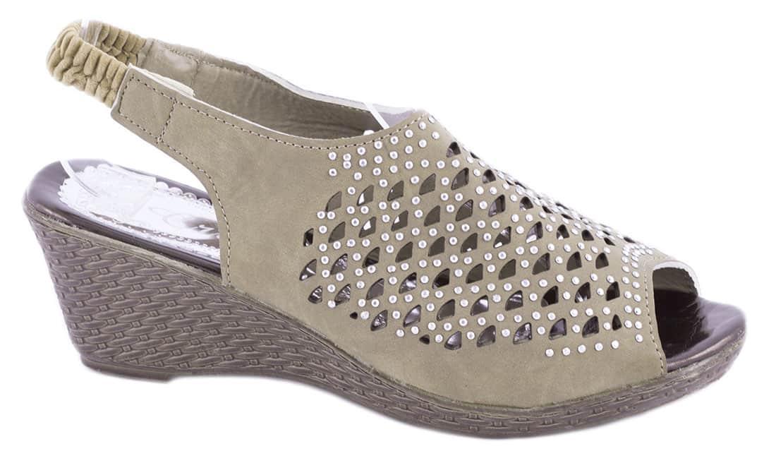 Sandale de dama cu talpa ortopedica WB-1217K