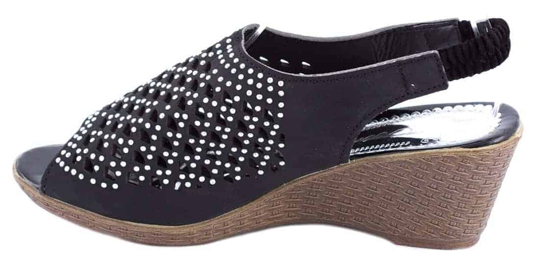 Sandale de dama cu talpa ortopedica WB-1217N