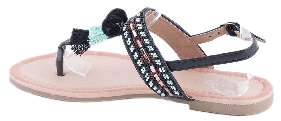 Sandale dama negre PM907-16N