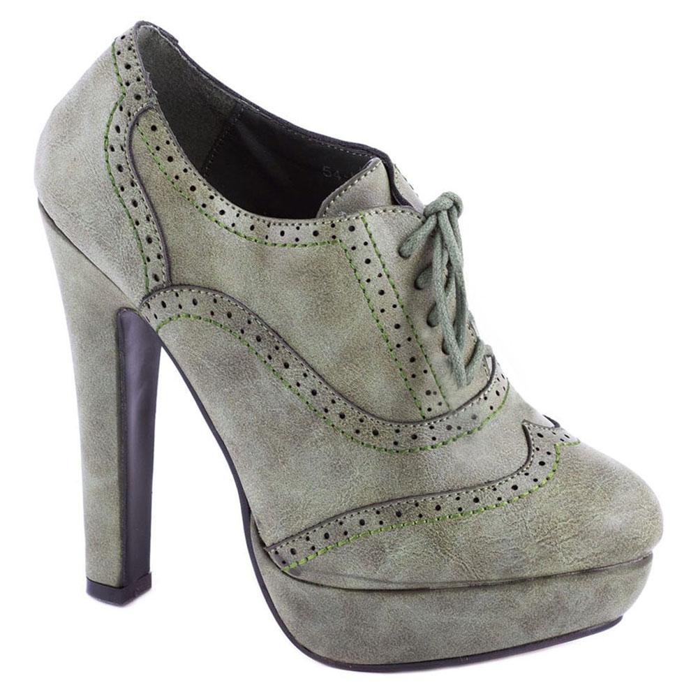 Pantofi dama cu platforma 54-M22058V