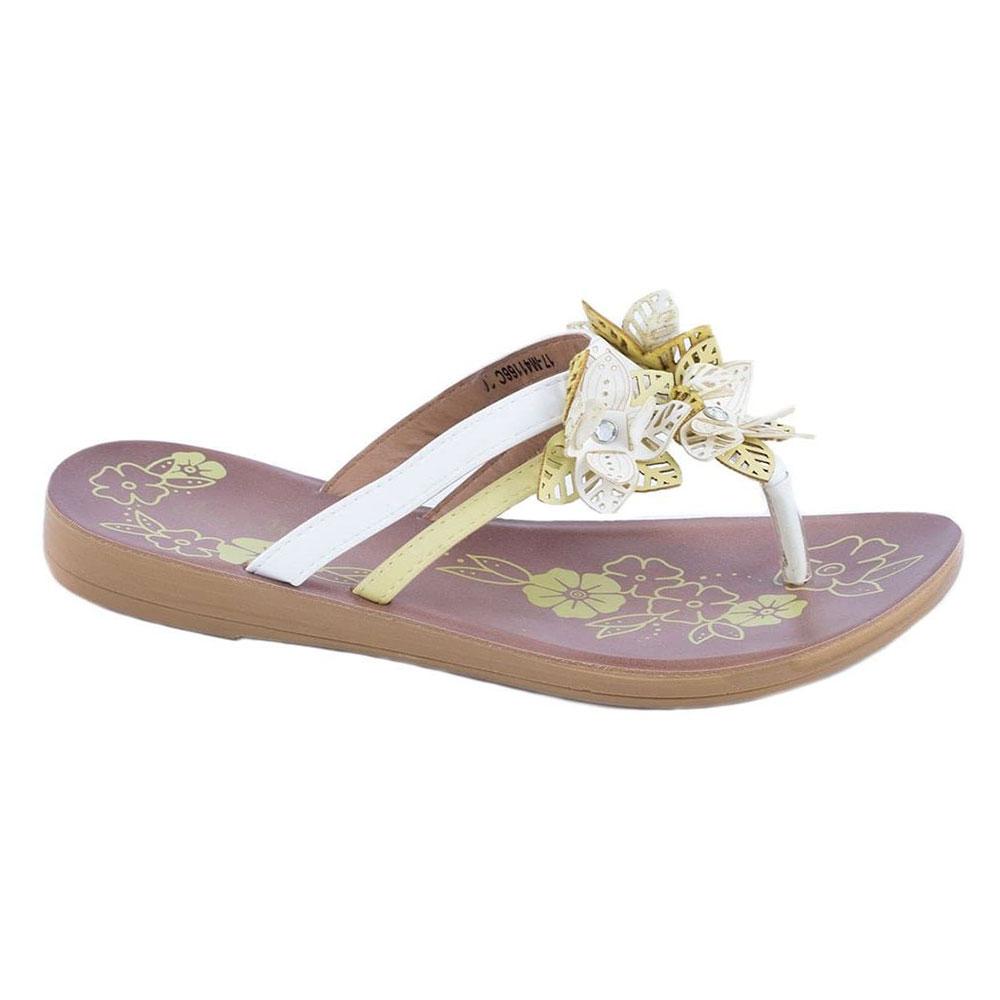 Papuci dama albi 17-M41166A