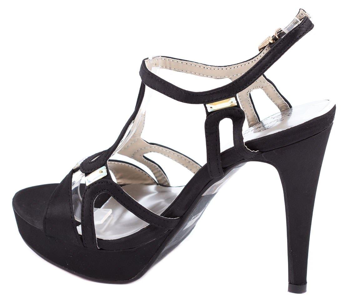 Sandale de dama cu platforma 14-M41332N