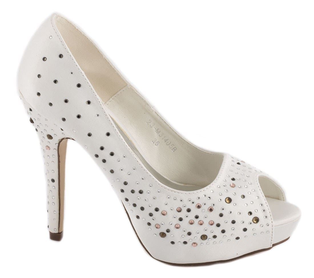 Pantofi de dama cu platforma 23-M31405A
