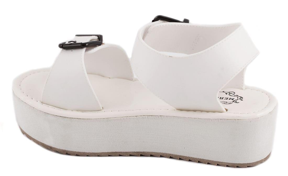 Sandale dama cu platforma 19-M41504A