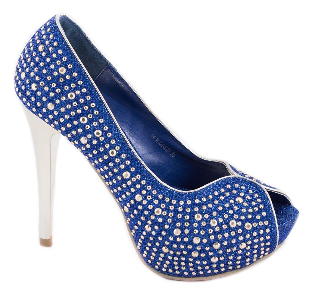 Pantofi de dama cu platforma 14-M32082A