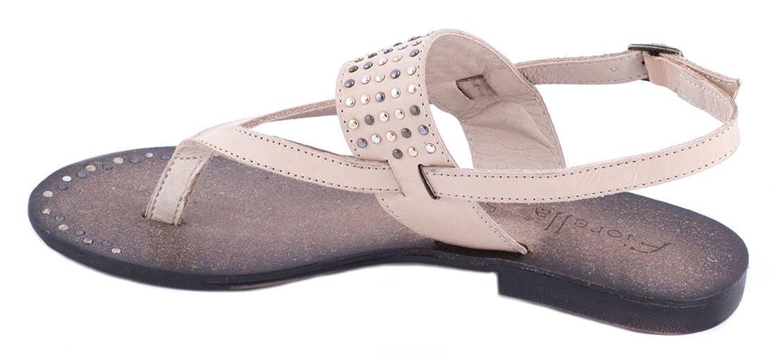 Sandale de dama bej 20-F41452B