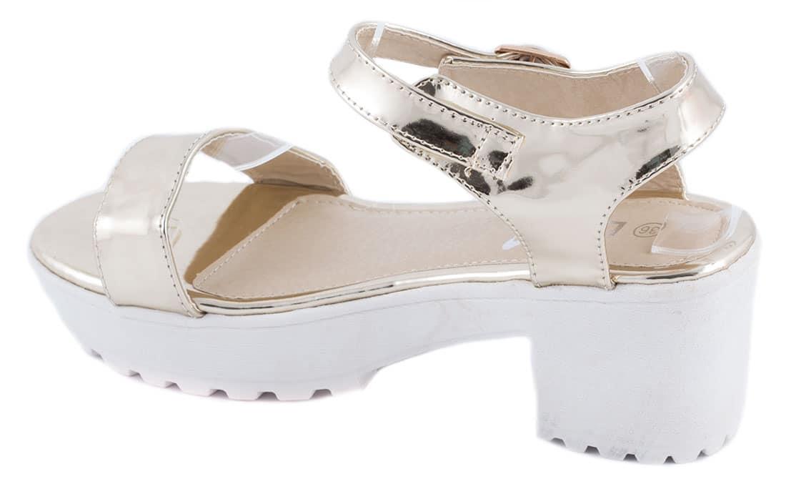 Sandale de dama gold TS-14G