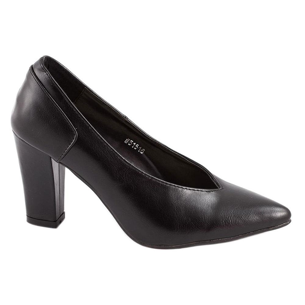 Pantofi de dama cu toc 51760-B la 39,99Lei - Zibra.ro