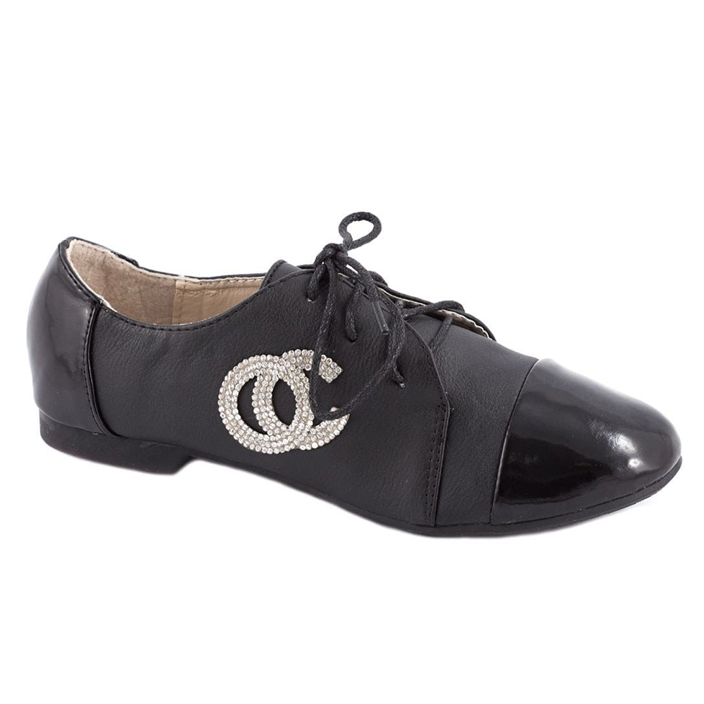 Pantofi de dama cu siret 919-10N