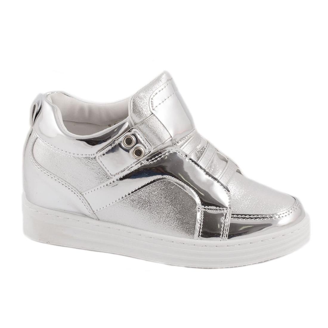 Sneakers de dama silver V1053-2S