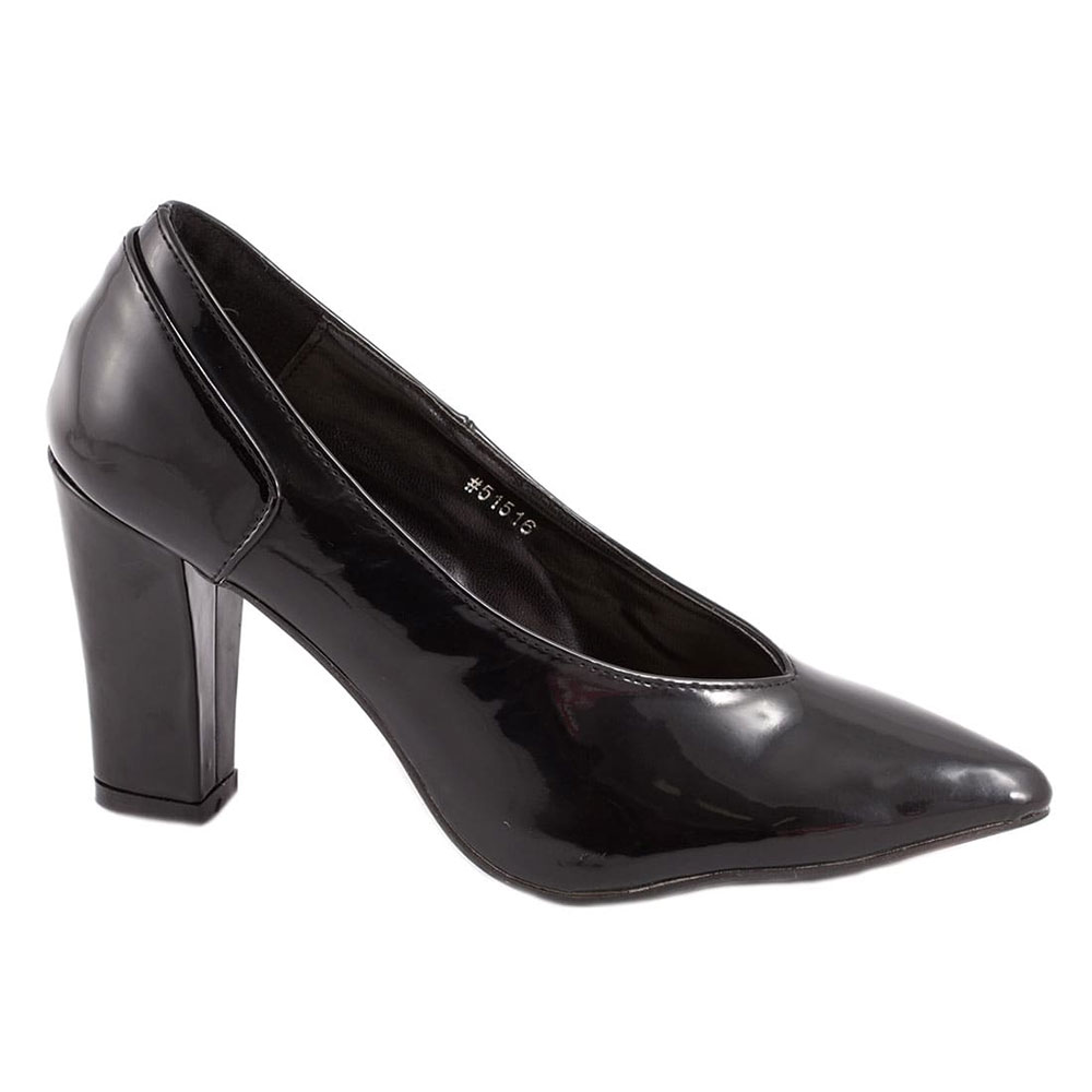 Pantofi de dama bej cu toc 51754-B-PT la 39,99Lei - Zibra.ro
