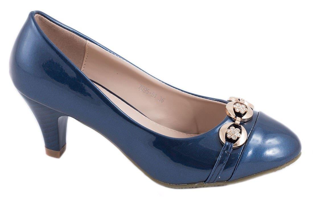 Pantofi de dama cu toc 7095-51B