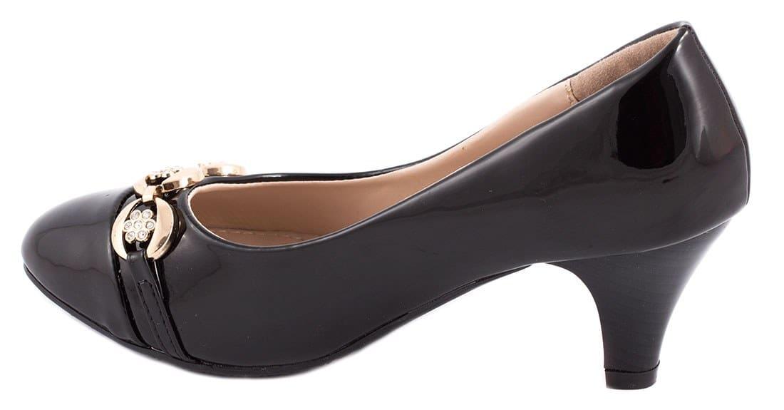 Pantofi de dama cu toc 7095-51N