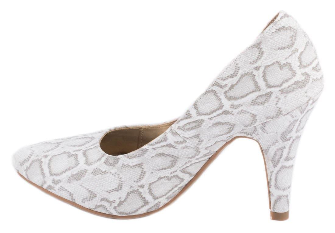 Pantofi de dama albi SH306A