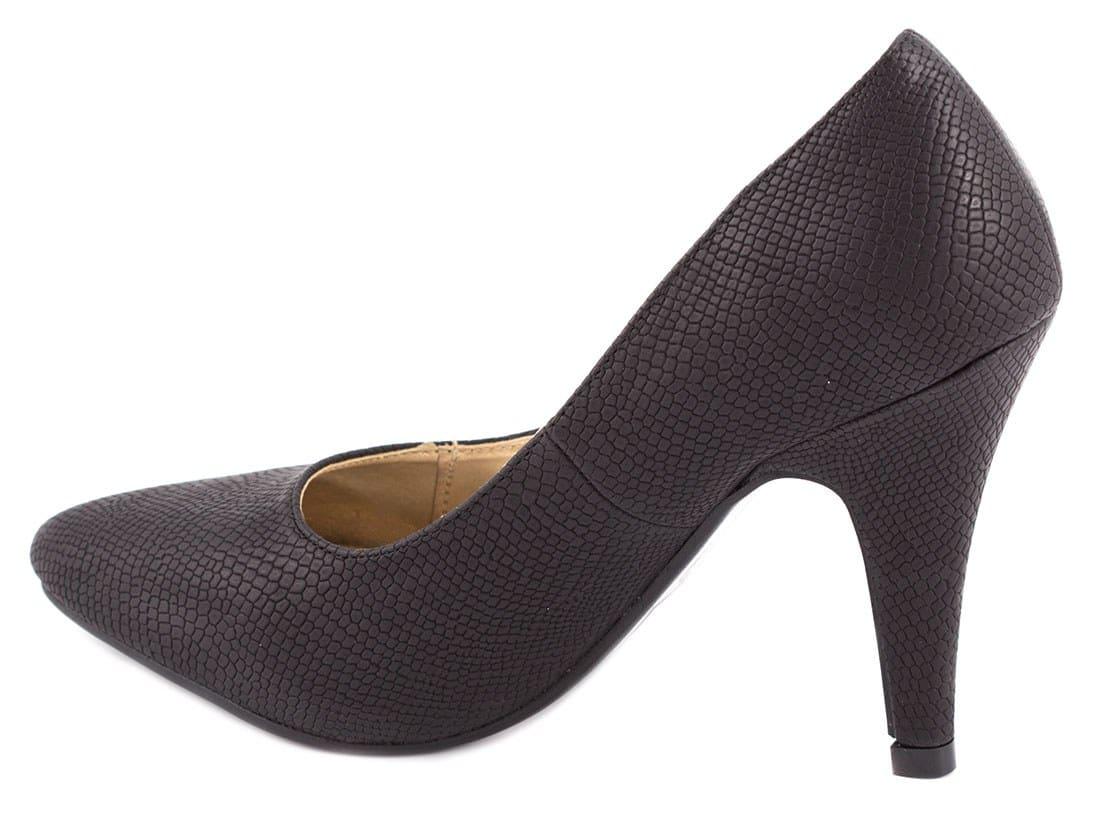 Pantofi de dama negri SH306N