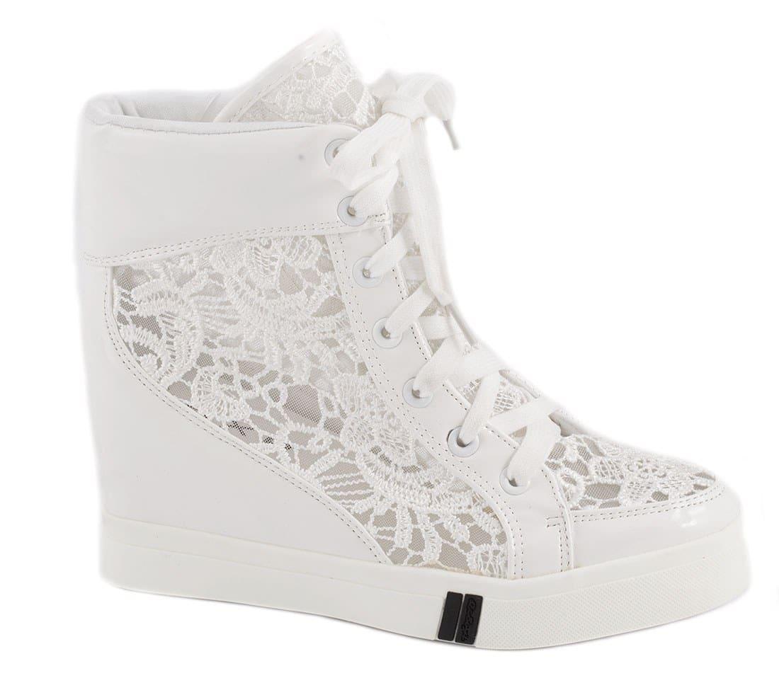 Sneakers de dama cu siret 029-2A