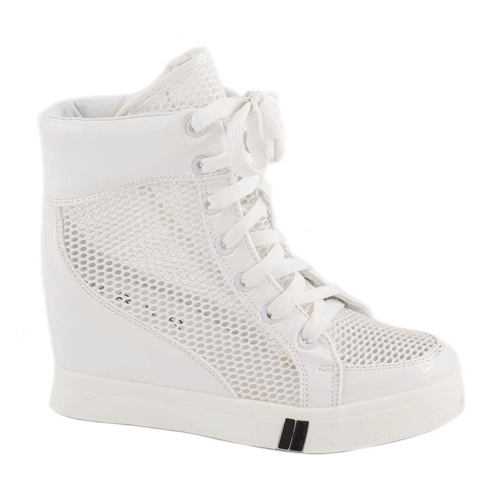 Sneakers de dama cu siret 029-3A