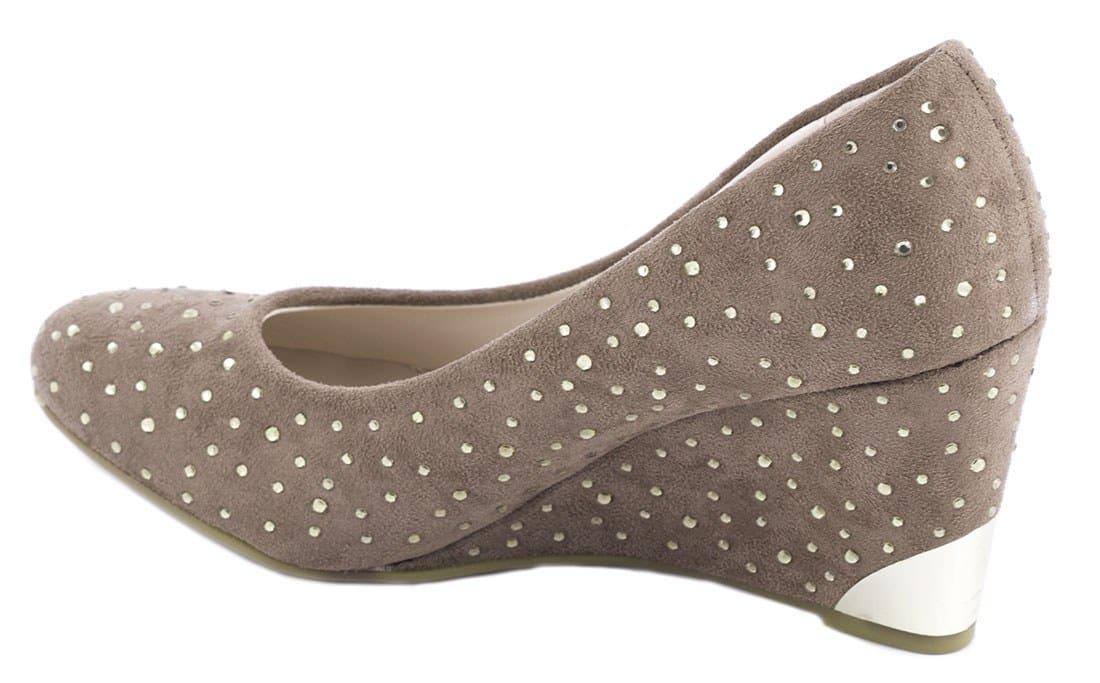 Pantofi dama cu strasuri C1-8KAKI