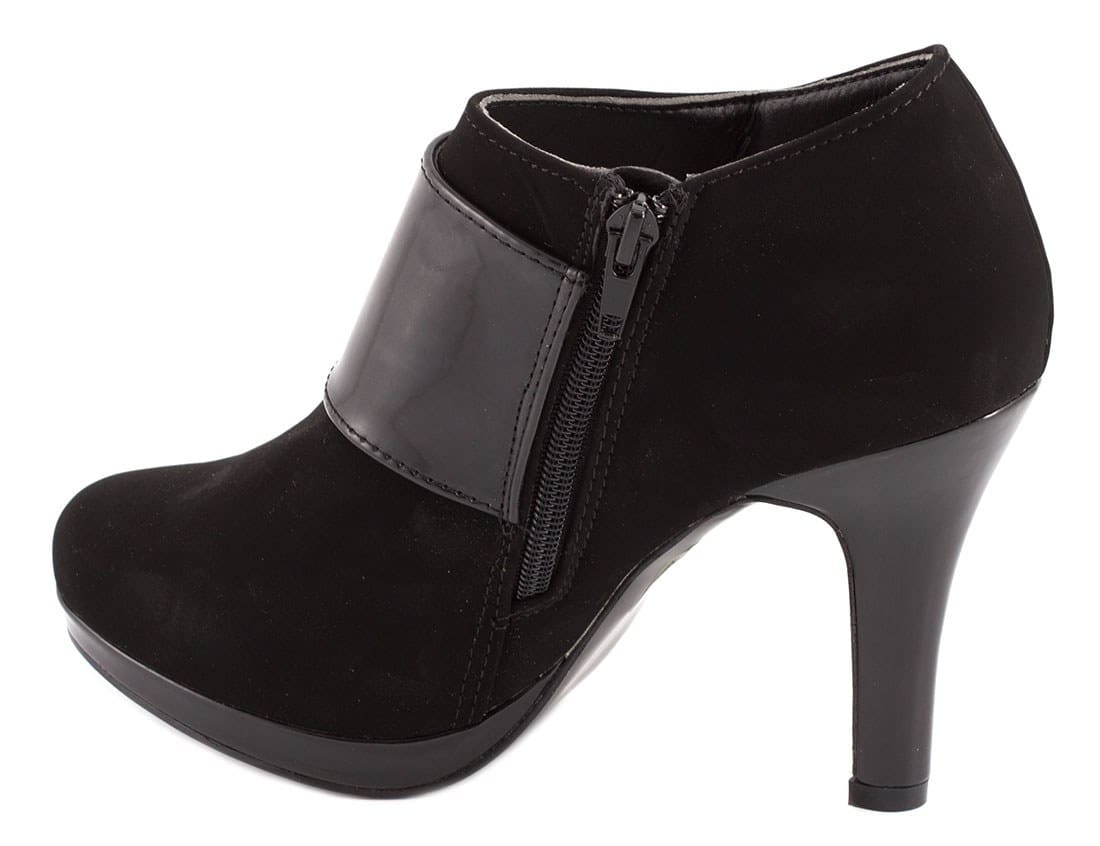 Botine de dama negre 92296NEGRU-L-PT
