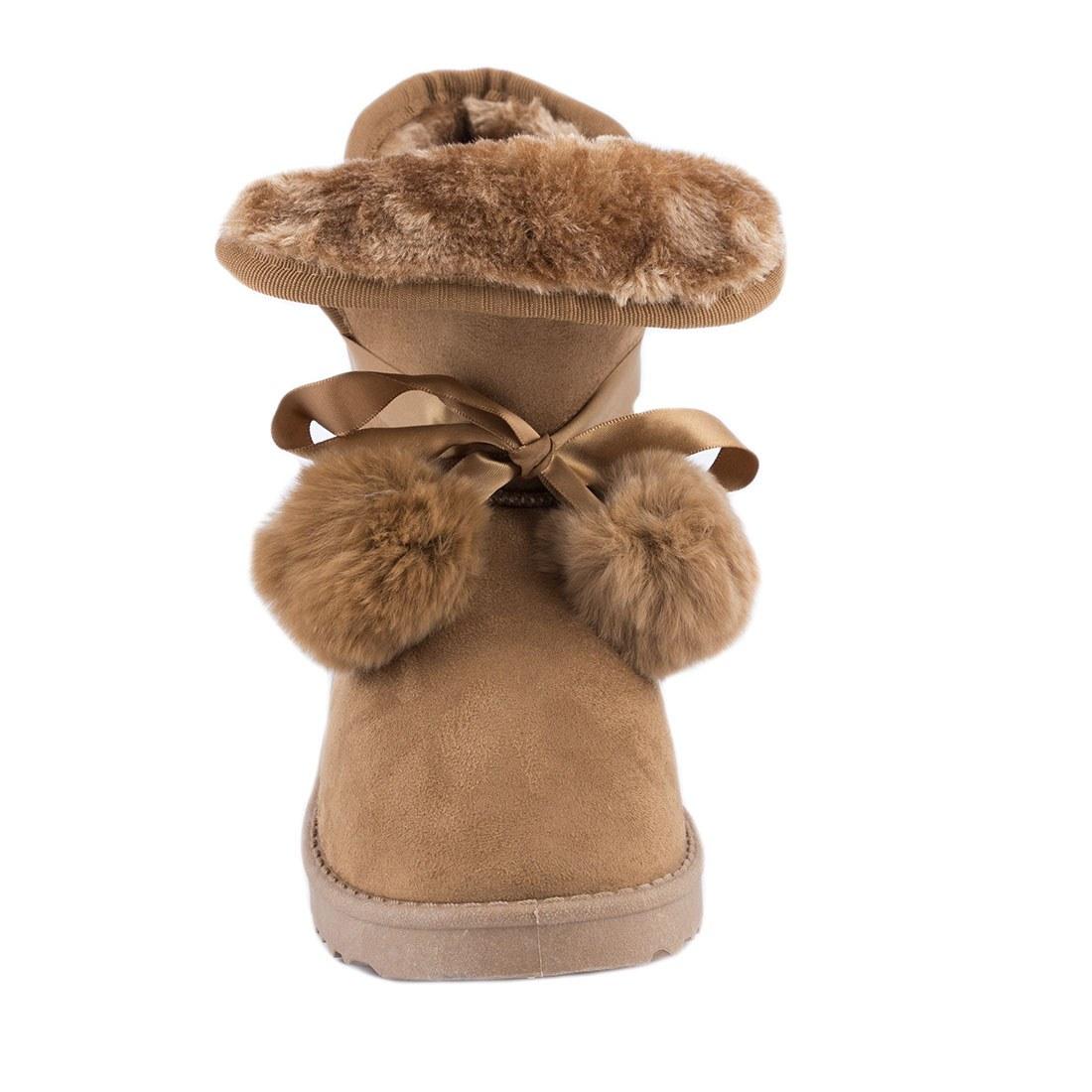 Cizme de dama comode PT3605-CAMEL