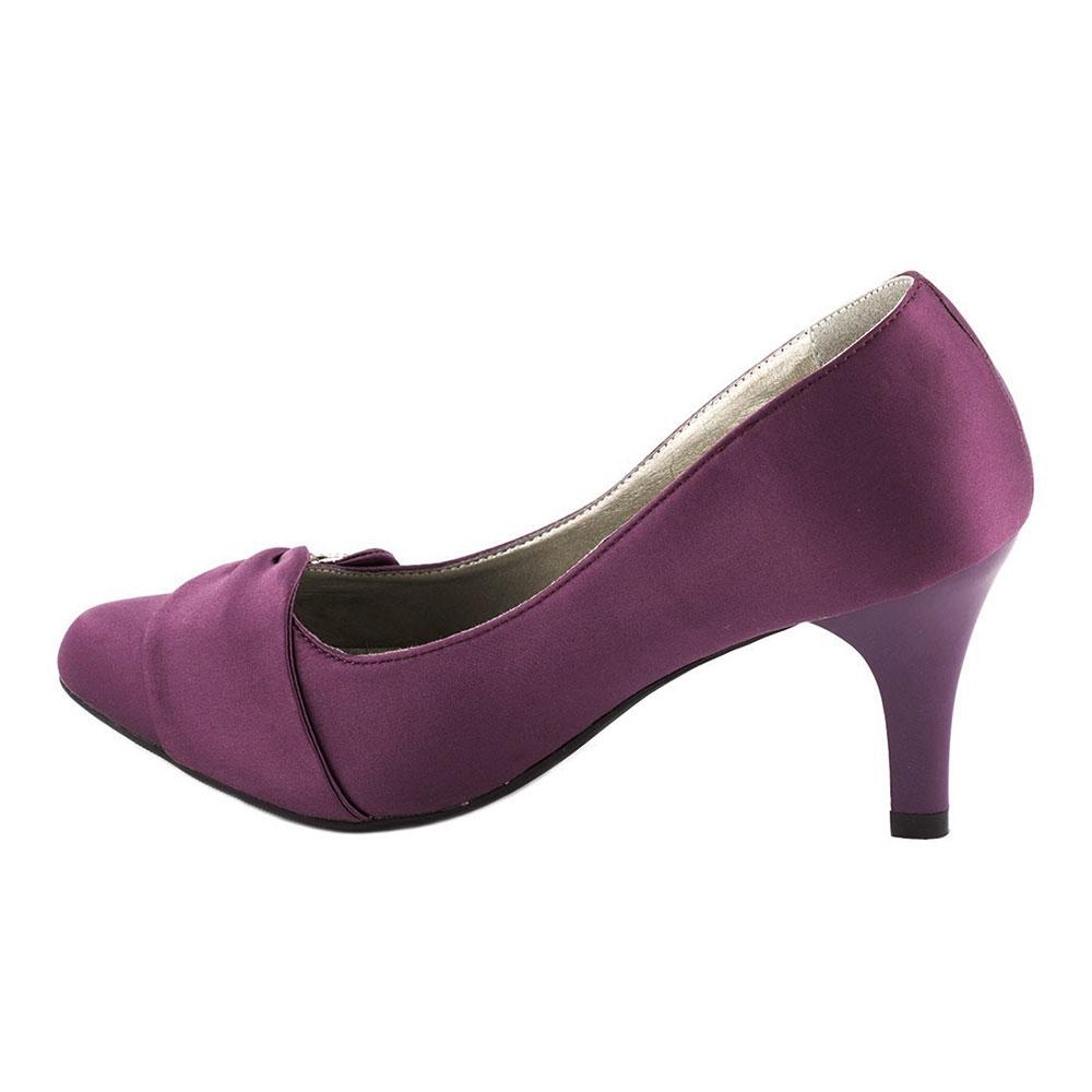 Pantofi dama cu toc A07168-2PURPLE